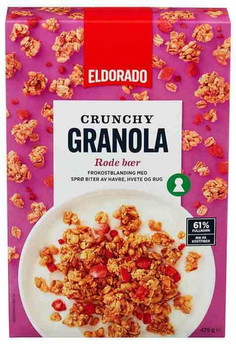 Bilde av Eldorado granola bær.