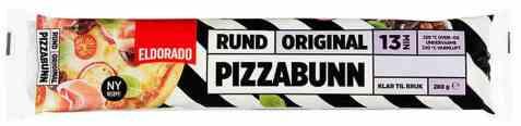 Bilde av Eldorado pizzabunn rund 280 gr.
