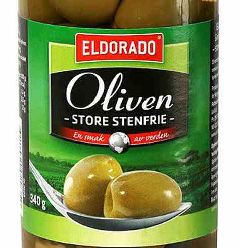 Bilde av Eldorado oliven grønne store uten sten.