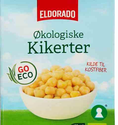 Bilde av Eldorado hermetiske kikerter økologiske.