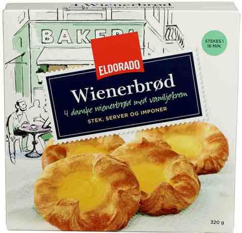 Bilde av Eldorado wienerbrød.