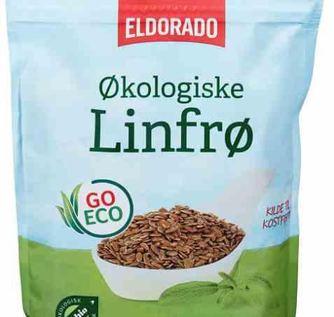 Bilde av Eldorado økologiske linfrø.