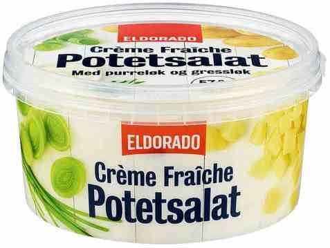 Bilde av Eldorado Potetsalat med creme fraiche.