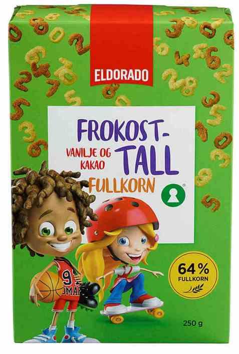 Bilde av Eldorado frokost tall.