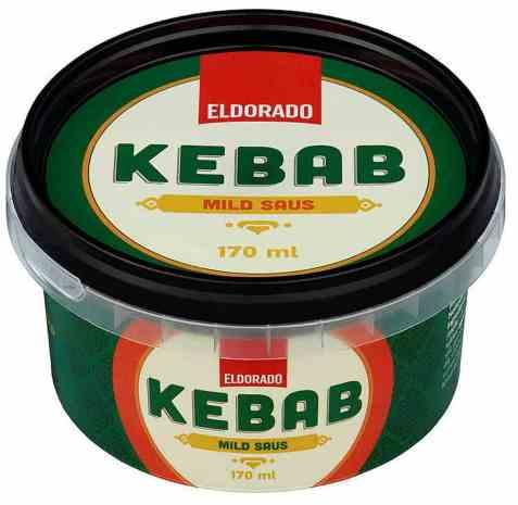 Bilde av Eldorado kebabsaus mild.