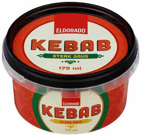 Bilde av Eldorado kebabsaus sterk.