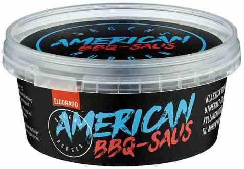 Bilde av Eldorado american BBQ saus.
