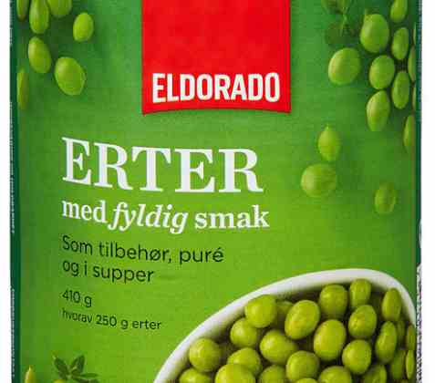 Bilde av Eldorado husholdningserter.