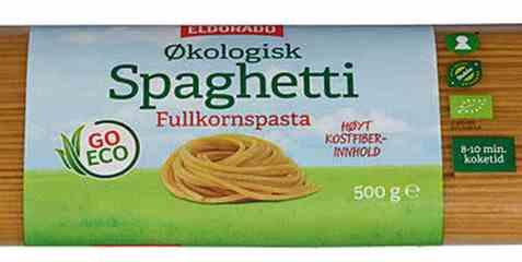 Bilde av Eldorado spaghetti fullkorn.