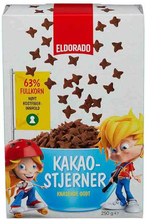 Bilde av Eldorado kakaostjerner.