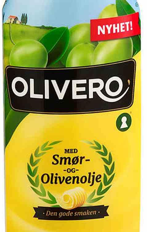 Bilde av Mills olivero flytende smør og olivenolje.