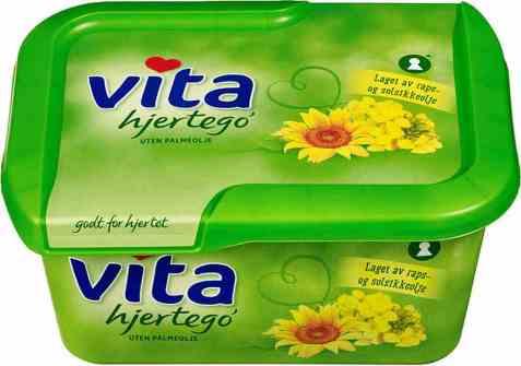 Bilde av Vita hjertego margarin 370 gr.