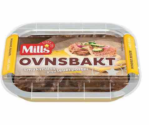Bilde av Mills Ovnsbakt Leverpostei 110 gr.