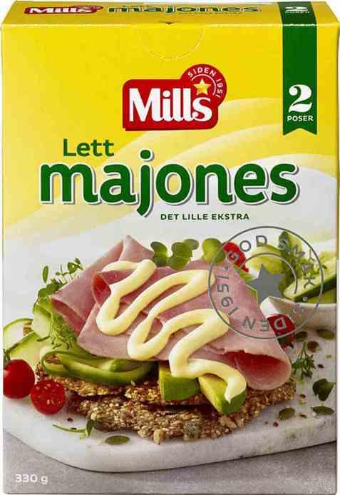Bilde av Mills lett majones 330 gr.