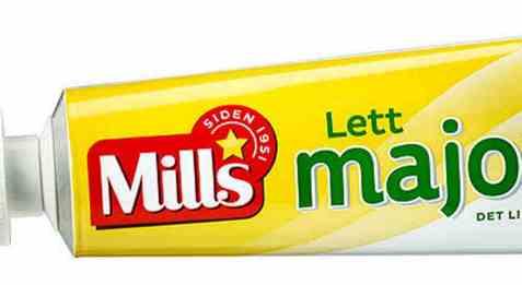 Bilde av Mills lett majones 170 gr tube.
