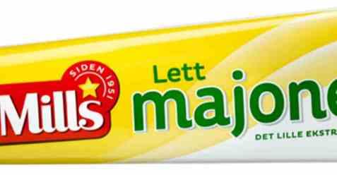 Bilde av Mills lett majones 105 gr tube.