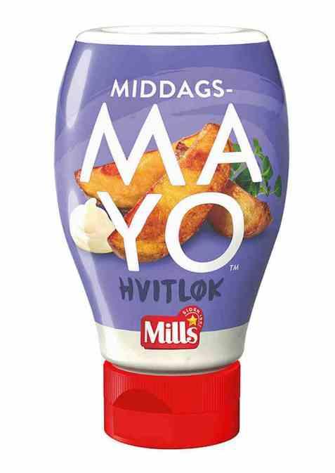 Bilde av Mills middagsmayo hvitløk.
