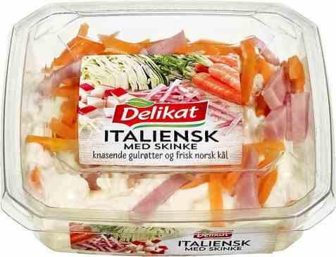 Bilde av Delikat Italiensk salat med skinke 180 gr.