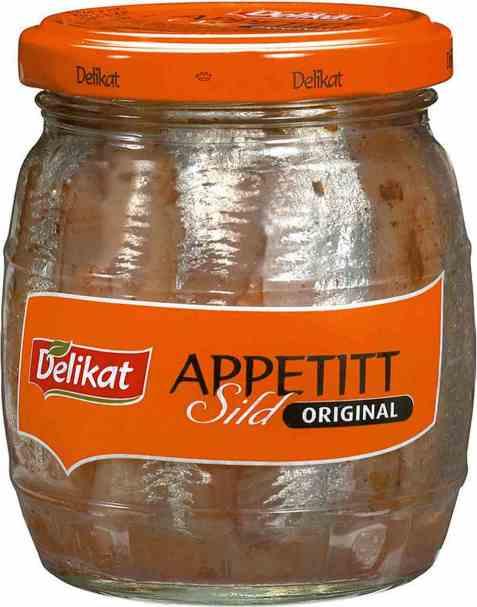 Bilde av Delikat Appetittsild Orginal 270 gr.