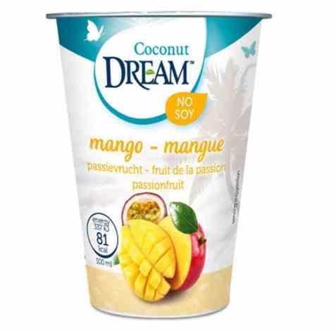 Bilde av Rice Dream kokosgurt mango.