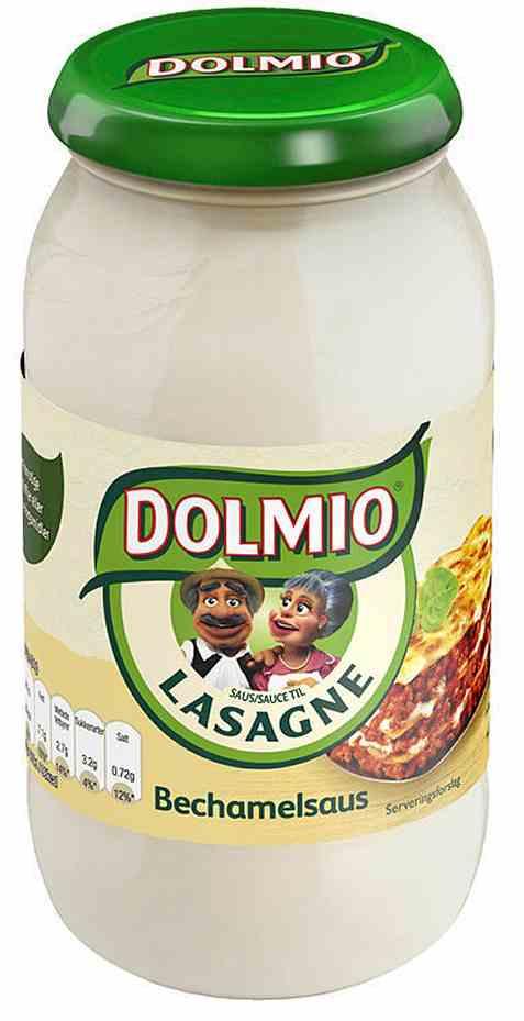 Bilde av Dolmio bechamel saus.