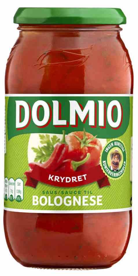 Bilde av Dolmio pastasaus chili intens.