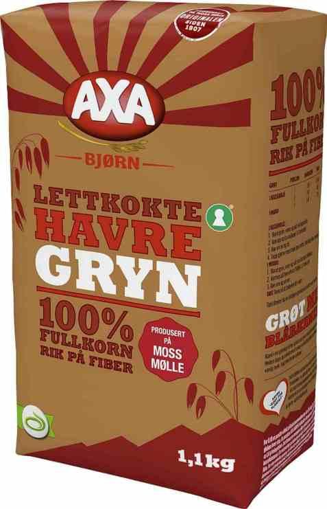 Bilde av Axa Bjørn havregryn lettkokte 1,1 kg.