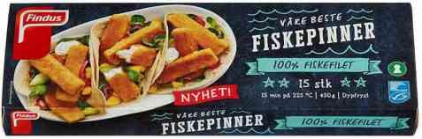 Bilde av Findus Våre beste fiskepinner.