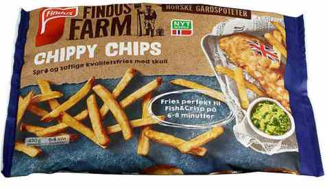Bilde av Findus Farm chippy chips.