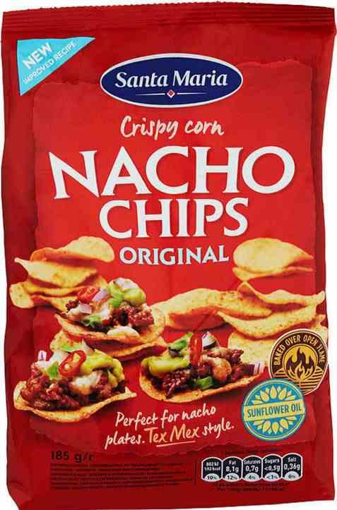Bilde av Santa Maria Chips nachos 185 gr.