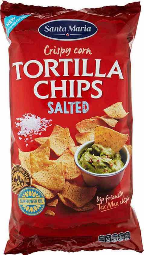 Bilde av Santa maria Tortilla Chips salted 475 gr.
