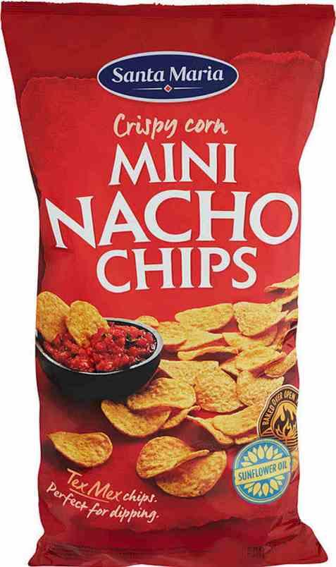 Bilde av Santa Maria Chips nachos mini.