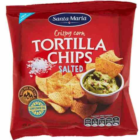 Bilde av Santa maria Tortilla Chips salted 40 gr.