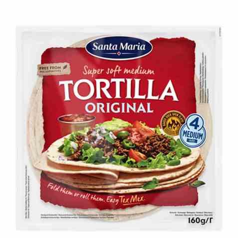 Bilde av Santa Maria tortilla original 160 gr.