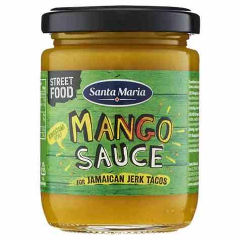 Bilde av Santa Maria mango sauce jamaican jerk.
