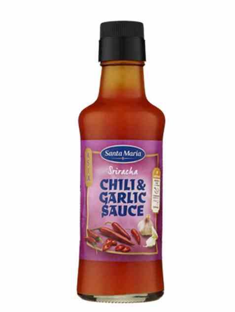 Bilde av Santa Maria Chili & Garlic Sauce Sriracha.