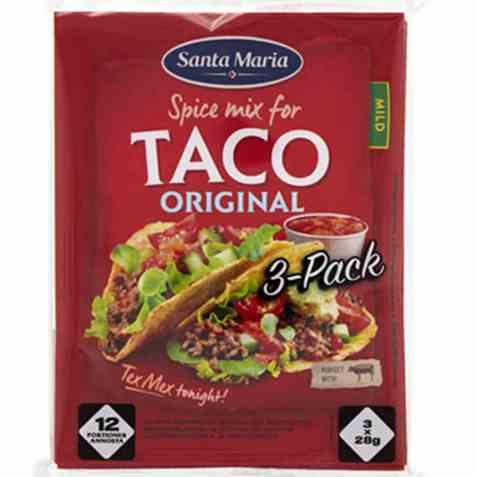 Bilde av Santa Maria Taco Spice Mix 3 pack.