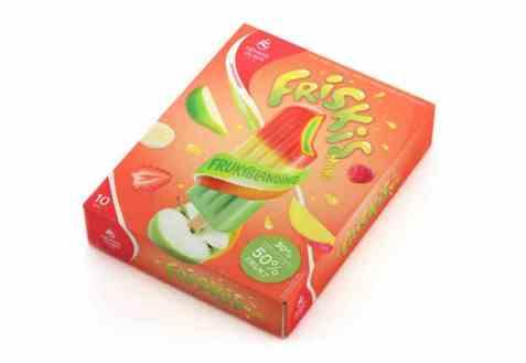 Bilde av Hennig Olsen Friskis Fruktblanding Multipack.