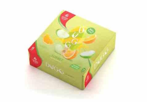 Bilde av Hennig Olsen dugg sorbet Eple & Appelsin 6 stk.