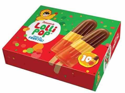 Bilde av Diplom-is Lollipop 10 pakke.