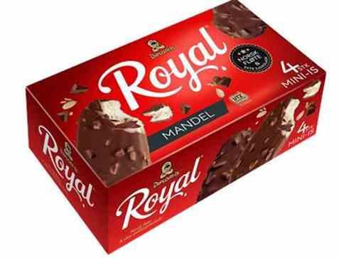 Bilde av Diplom-is Royal Mandel Mini 4pk.