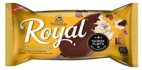 Bilde av Diplom-is royal melkesjokolade.