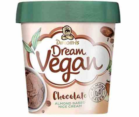 Bilde av Diplom-is Dream Vegan Sjokolade.