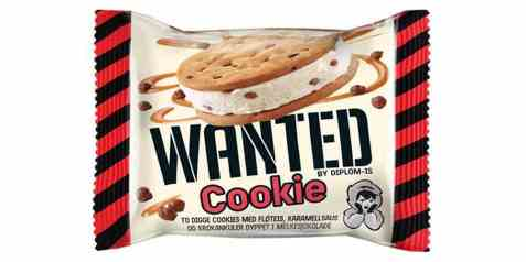 Bilde av Diplom-is wanted cookie 100ml.
