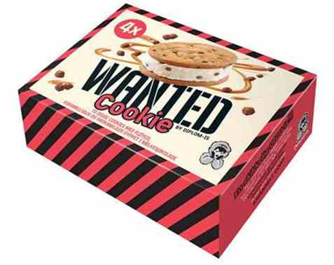 Bilde av Diplom-is wanted cookie 4pk.