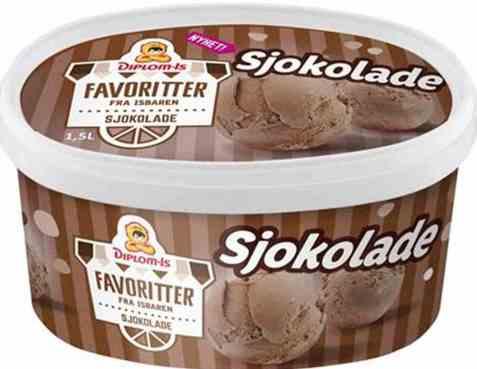 Bilde av Diplom-is favoritter sjokolade 1.5 liter.