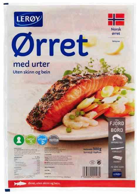 Bilde av Lerøy Ørretfilet med urter.