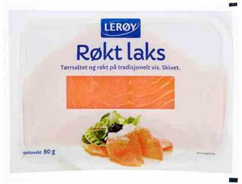 Bilde av Lerøy Røkt laks.