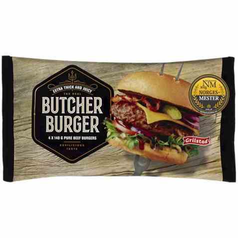 Bilde av Grilstad butcher burger.