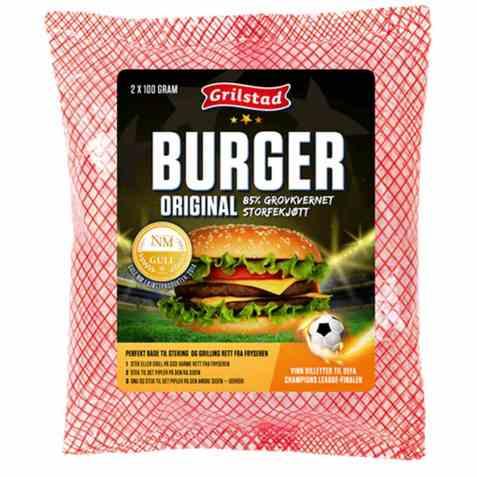 Bilde av Grilstad hamburgere original 2 stk.